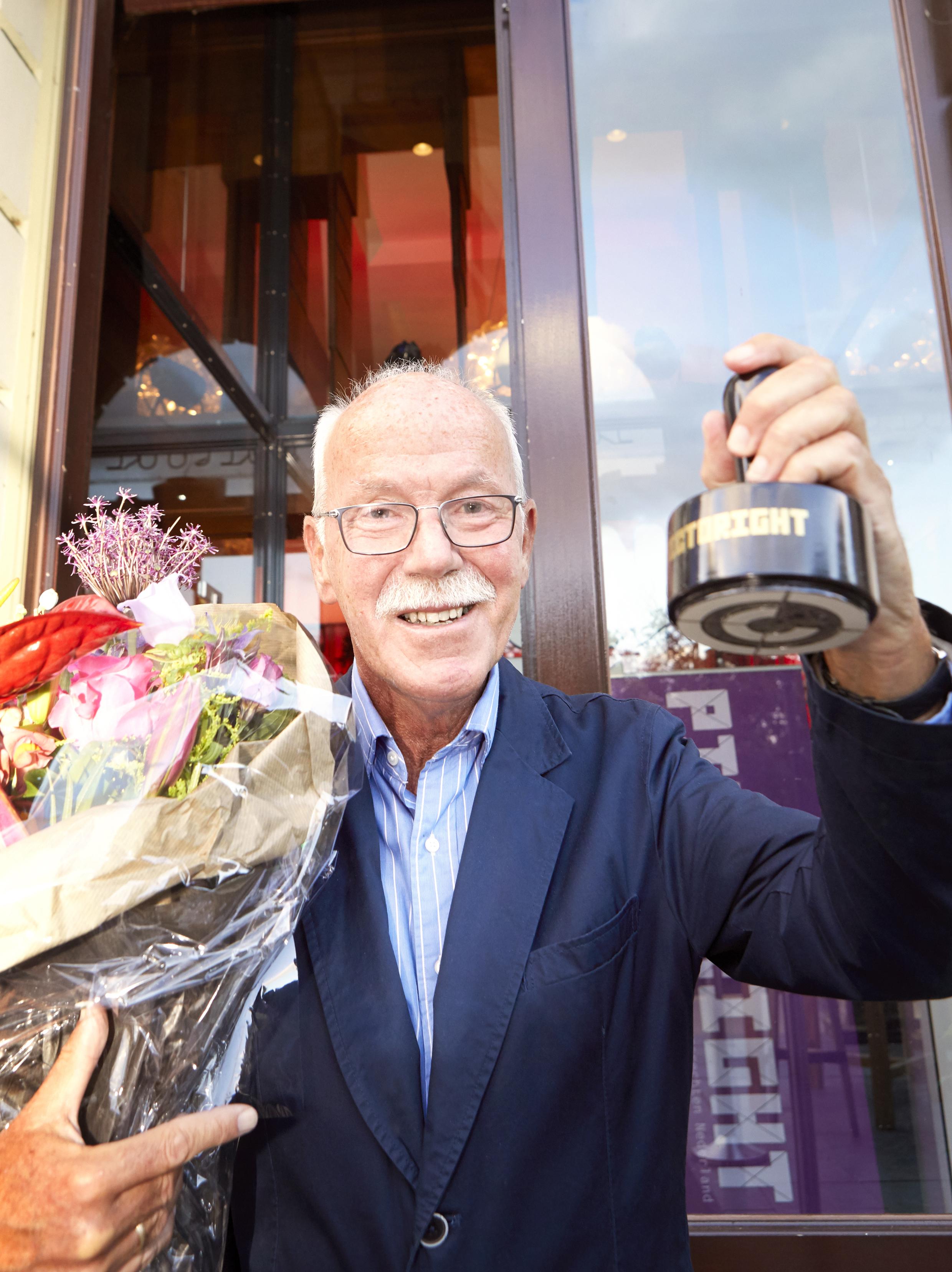 Wim Drion ontvangt Pictorightprijs - Pictoright